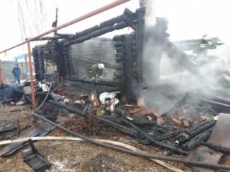 Следственный комитет начал проверку по факту смерти женщины при пожаре в Вирге