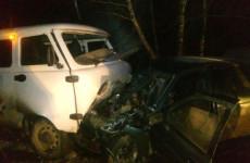 В Бессоновском районе лоб в лоб столкнулись «десятка» и «УАЗ», есть пострадавший