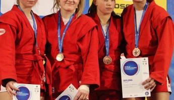 Пензенская самбистка вернулась из Сербии чемпионкой мира