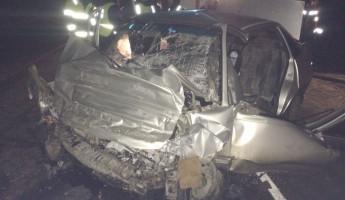 Лобовое столкновение «Нексии» с фурой на трассе под Пензой: легковушка всмятку, водитель погиб