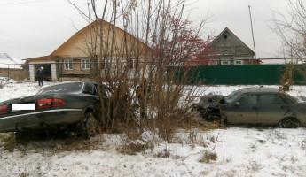 В Пензенской области «Волга» врезалась в «Приору», пострадала молодая девушка