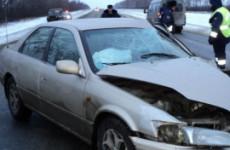В Пензе, на улице 40 лет Октября, разбились сразу три легковушки