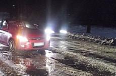 В Пензе на улице Пролетарской разбились две иномарки, есть пострадавший