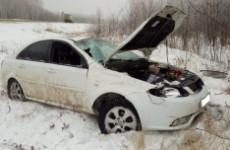 Страшное ДТП в Сердобске: иномарка вылетела в кювет, водитель погиб