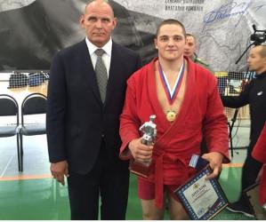 Пензенский самбист вернулся из Сербии с золотой медалью