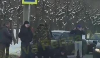 В Сети появилось видео со сбитыми в Арбеково пешеходами