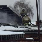 В Пензе 22 человека тушили страшный пожар. Пострадала женщина