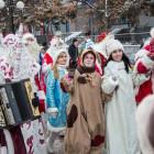 В Пензе прошел парад Дедов Морозов