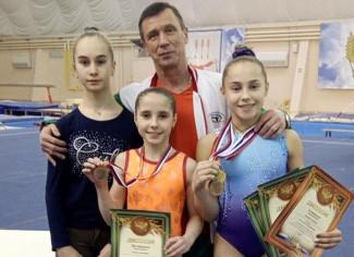 Юные пензенские гимнастки завоевали четыре медали на всероссийских соревнованиях в Мордовии