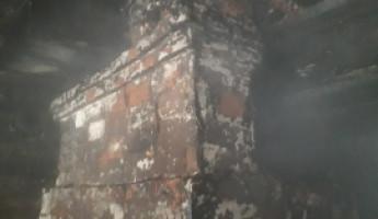 Страшный пожар в Мокшанском районе: в огне погиб мужчина