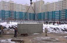 В Спутнике торжественно началось строительство 42-го дома