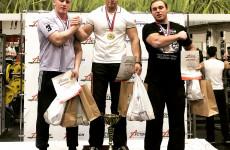 Пензенские спортсмены вернулись с победой с турнира по армрестлингу