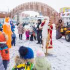 На набережной Спутника состоялся зимний праздник