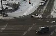 Появилось видео с места страшного ДТП в Терновке