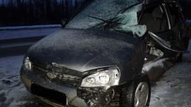 В Пензе в Арбеково произошла серьезная авария