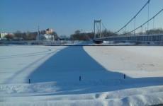 Жителей Пензы призвали быть осторожными на тонком льду