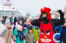 Фестиваль уличной анимации прошел в Спутнике
