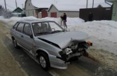 Жесткое ДТП в Кузнецке: лоб в лоб столкнулись «Mazda» и «ВАЗ»