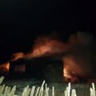 Пожар в Нижнеломовском районе: полыхающий дом тушили 8 человек