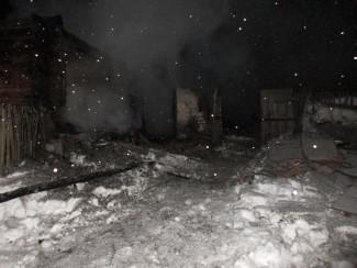 Опубликованы фото с места смертельного пожара в Пензенской области