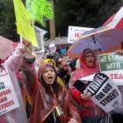 Более 30 тысяч учителей, недовольных зарплатой, вышли на забастовку