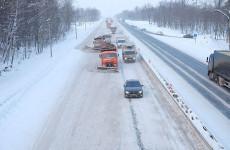 В Пензенской области ограничено движение грузовиков на трассе М-5
