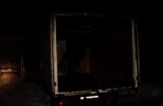 Ночью в Пензенской области вспыхнул фургон с бытовым товаром