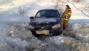 Жесткое ДТП в Пензенской области: столкнулись «Калина» и «шестерка»