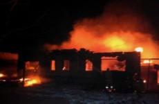Жуткий пожар в Пензенской области унес жизнь одного человека