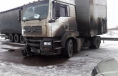 Массовое ДТП в Пензенской области: столкнулись три фуры и легковушка