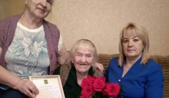 В Пензе ветеран Великой Отечественной войны отметила вековой юбилей