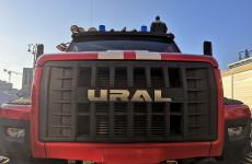 Пензенским пожарным подарили технику на 50 миллионов рублей