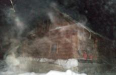 В Городищенском районе срубовую баню тушили шесть человек