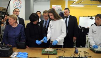 Японская делегация оценила изобретения юных пензенцев