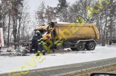 В страшном ДТП под Пензой погиб водитель самосвала