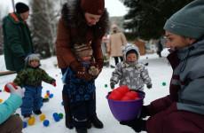 Маленьким пензенцам подарили «Разноцветную зиму»