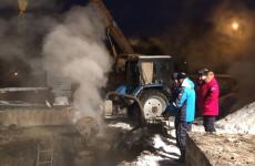 В Пензе произошла серьезная коммунальная авария