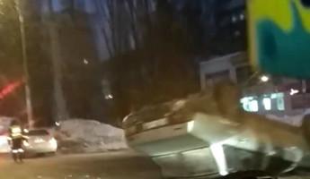 «Перевертыш» на улице 8 Марта: пензенцы обсуждают утреннее ДТП