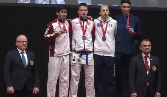 Пензенский каратист вернулся из Европы с золотой медалью
