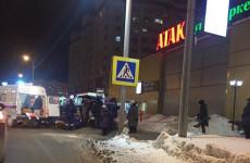 В Пензе в районе ГПЗ-24 на пешеходном переходе сбили женщину