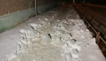 Следком возбудил уголовное дело после падения на пензячку глыбы льда