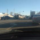 Столкновение двух легковушек привело к затору на трассе под Пензой