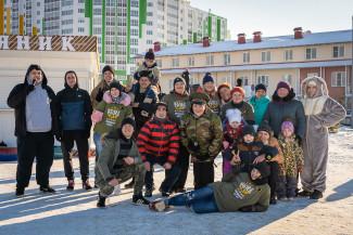 В Спутнике герои проекта «Культ тела – 3» провели праздник в честь 23 Февраля