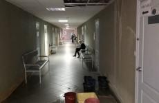 В Пензе затопило еще одну поликлинику