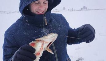 Пензенский актер Антон Макарский поделился впечатлениями от зимней рыбалки