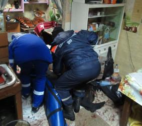 В Пензе потерял сознание раненый мужчина