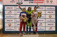 Пензячка Наталья Афремова взяла «золото» на Кубке России по велоспорту BMX