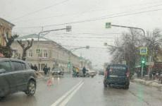 В центре Пензы произошло жесткое ДТП