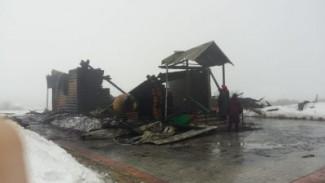 В Пензенской области огонь уничтожил храм  Архистратига Божия Михаила