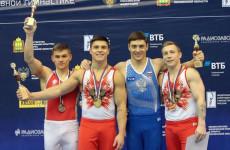 Пензенские гимнасты завоевали медали на Чемпионате России